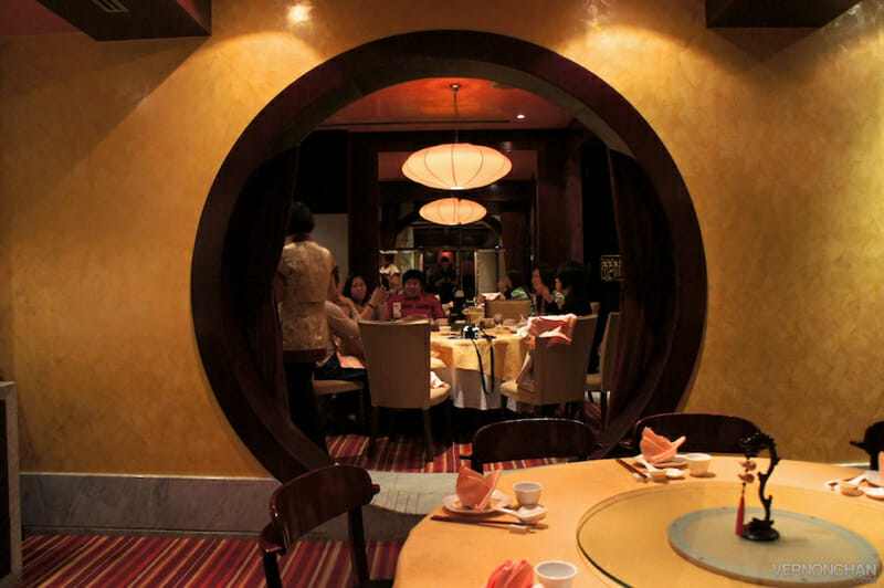 Private dining area @ Toh Yuen