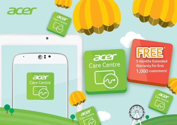 Acer Care Centre mobile app goes live