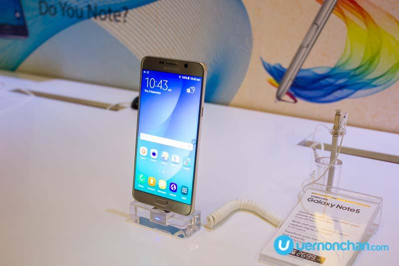 Samsung Galaxy Note5 launch