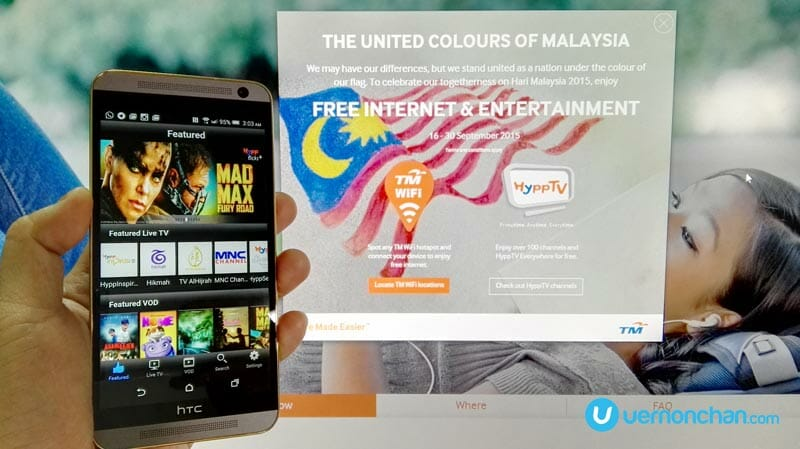 This Hari Malaysia 2015, TM dishes out free internet and HyppTV access to all