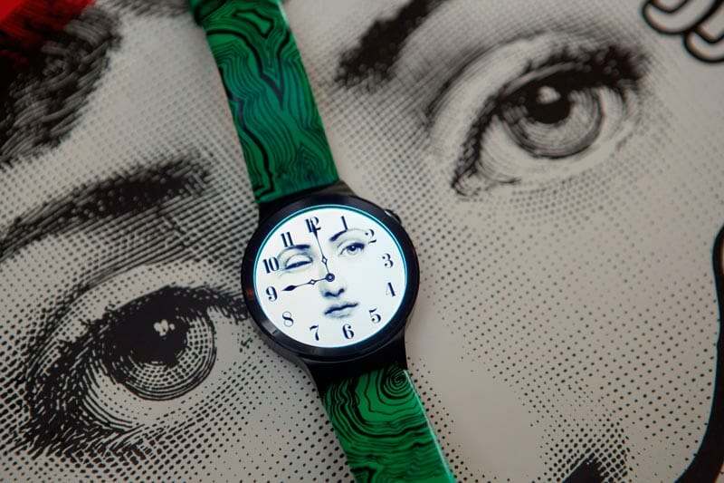 Huawei, Vogue China and Fornasetti reveal special edition Huawei watch at Milan Fashion Week