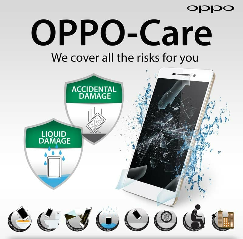 Now you can protect your OPPO R7 Series phone for less with revised OPPO Care offer