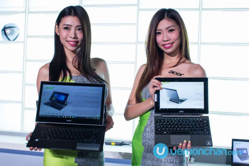Acer launches new Windows 10 devices in Taipei