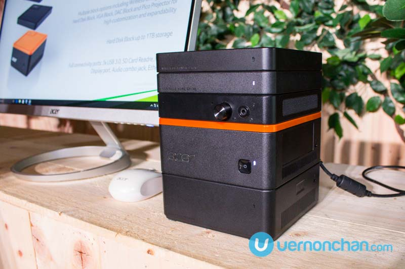 First look at Acer Revo Build stackable modular mini PC