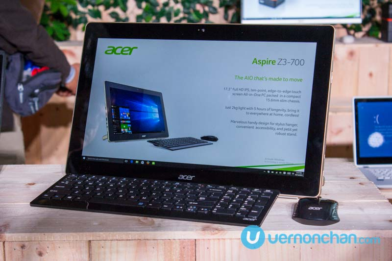 Acer Aspire Z3-700 is the all-in-one home PC that's also a tablet