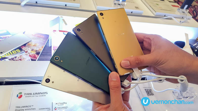 Sony Xperia Z5 series launch