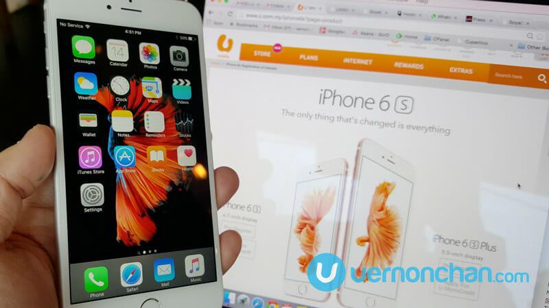 U Mobile iPhone 6s Plus