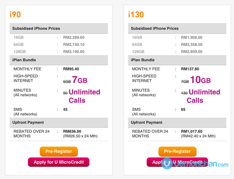 U Mobile iPhone 6s plans