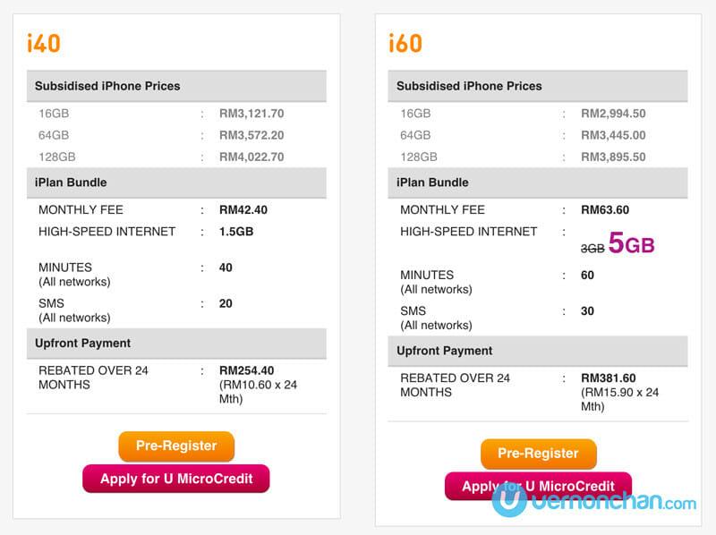 U Mobile iPhone 6s Plus plans