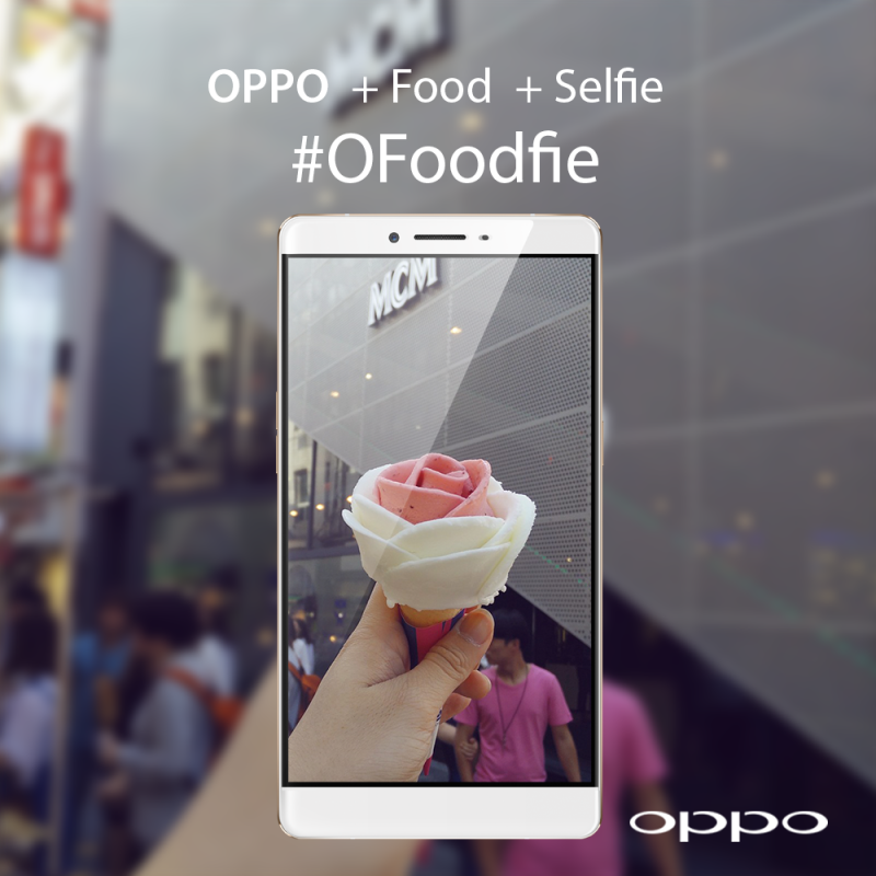 Let your camera eat first: Win an OPPO R7 Plus with your most creative #OFoodfie