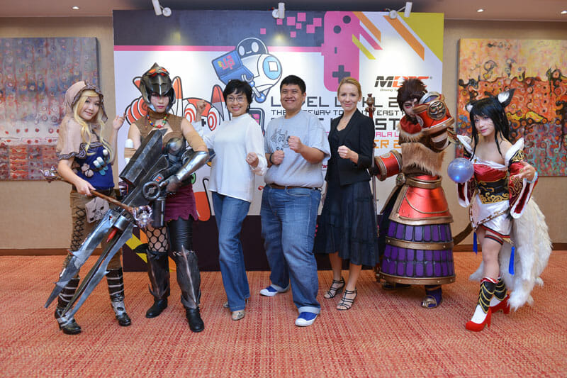 MDEC hosts Level UP KL 2015, Southeast Asia's premier gaming event
