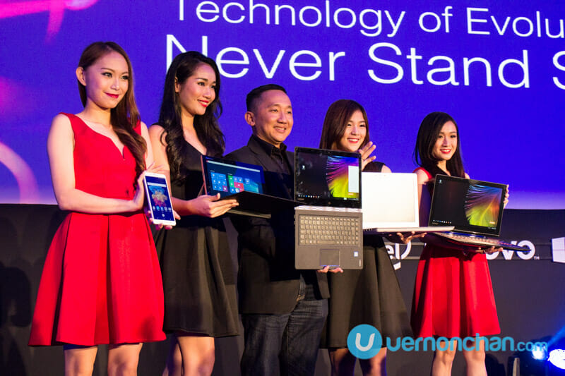 Lenovo unleashes 18 products, vows to 'Never Stand Still'