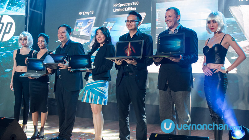 HP Reinventing Notebook launch