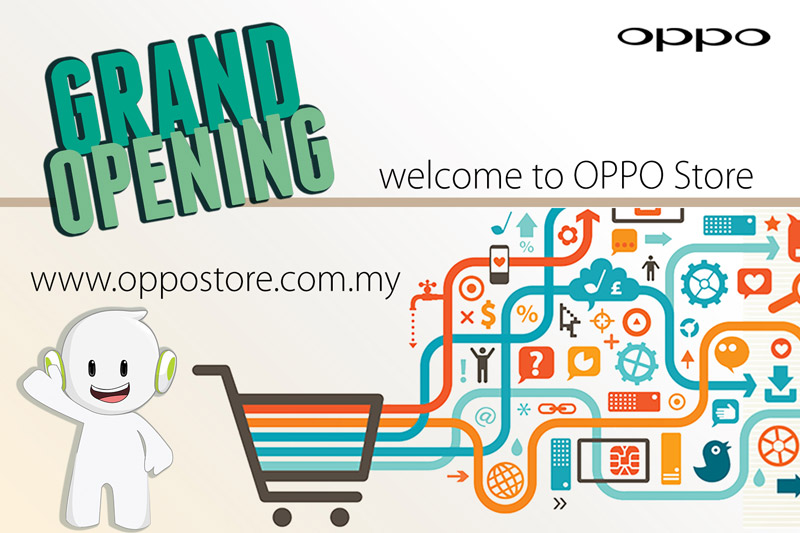 OPPO goes online with official OPPOstore
