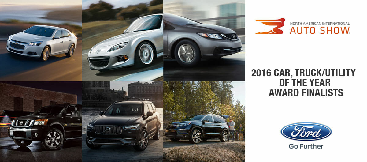 2016 COTY Awards NAIAS