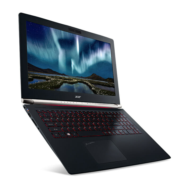 [CES 2016] Acer Aspire V Nitro Black Edition gaming notebook gets Intel RealSense