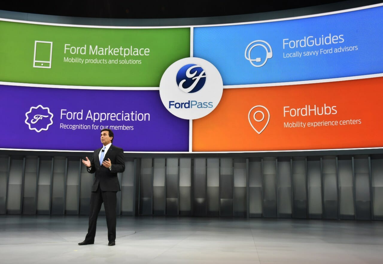 [NAIAS 2016] FordPass reimagines and redefines customer experience