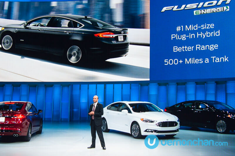 [NAIAS 2016] The 2017 Ford Fusion is here, V6 Sport model pumps out 325bhp