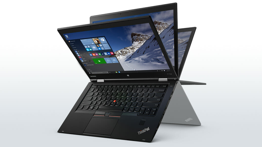 "[CES 2016] The Lenovo ThinkPad X1 Yoga is the world's lightest 14"" business 2-in-1 notebook"