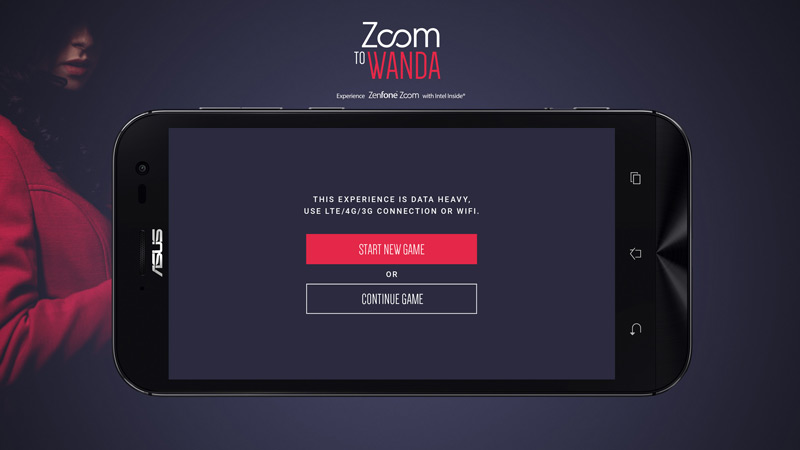 ASUS launches 'Zoom to Wanda' online game featuring ZenFone Zoom