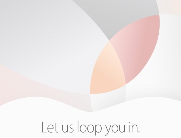 Apple Event 'Let Us Loop You In'