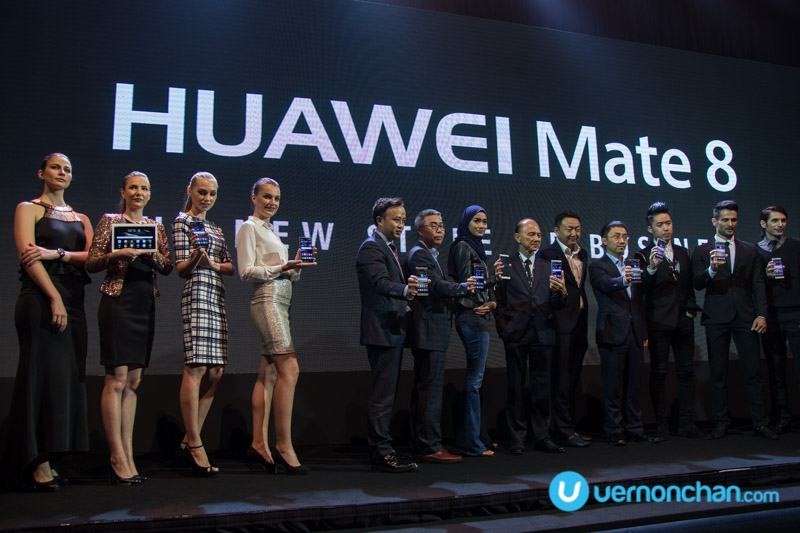 Huawei Mate 8 all set for business in Malaysia