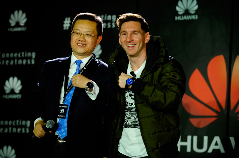 When greatness connects: Lionel Messi is now Huawei Global Brand Ambassador