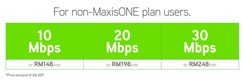 Maxis Home Fibre