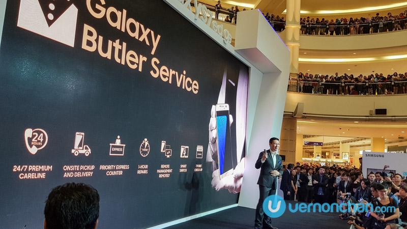 Samsung Galaxy Butler Service