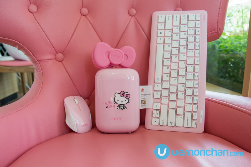 Award-winning Acer Revo goes pink as Limited Hello Kitty Edition