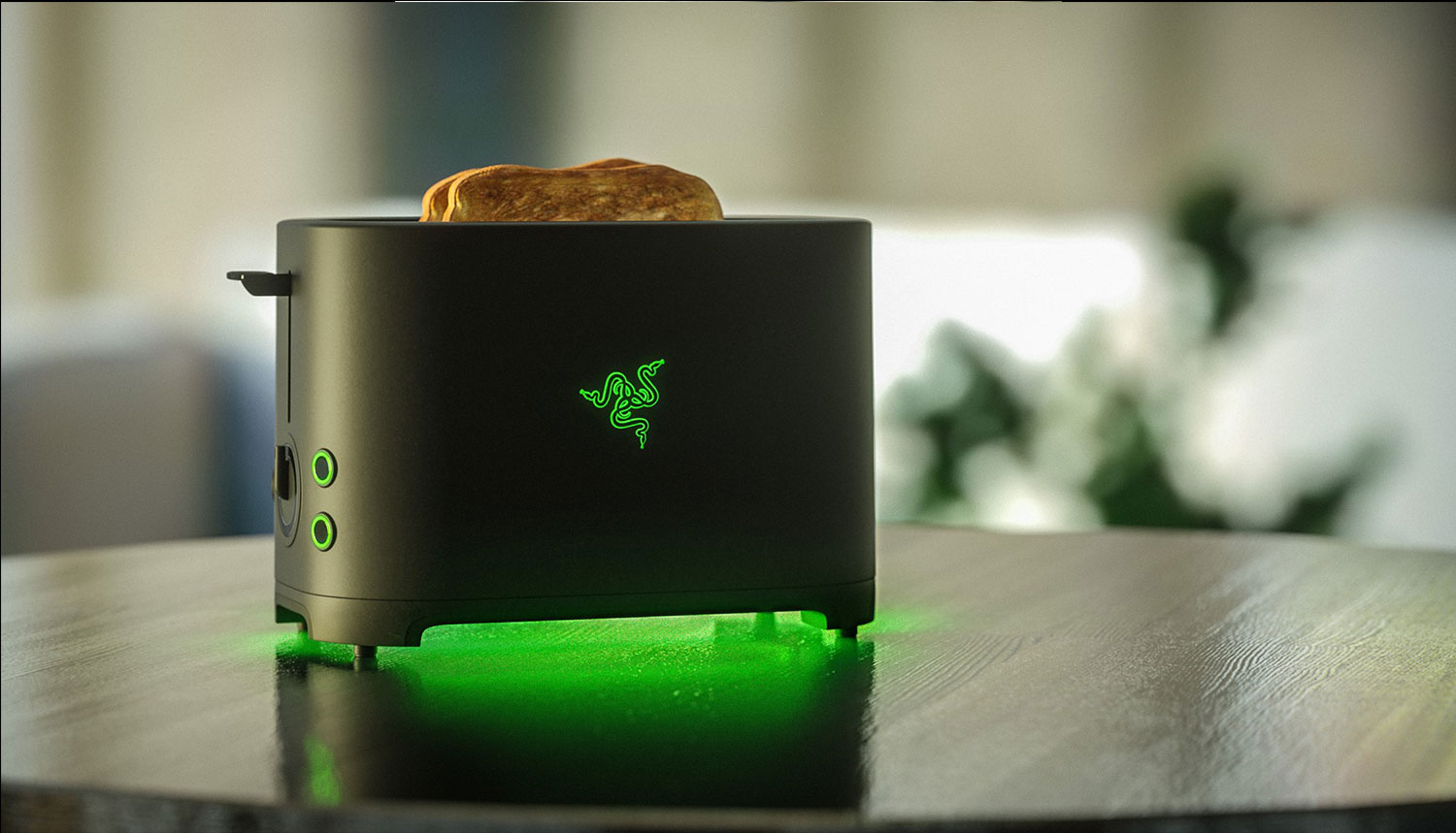 Razer's Project Breadwinner is world's first gaming grade toaster