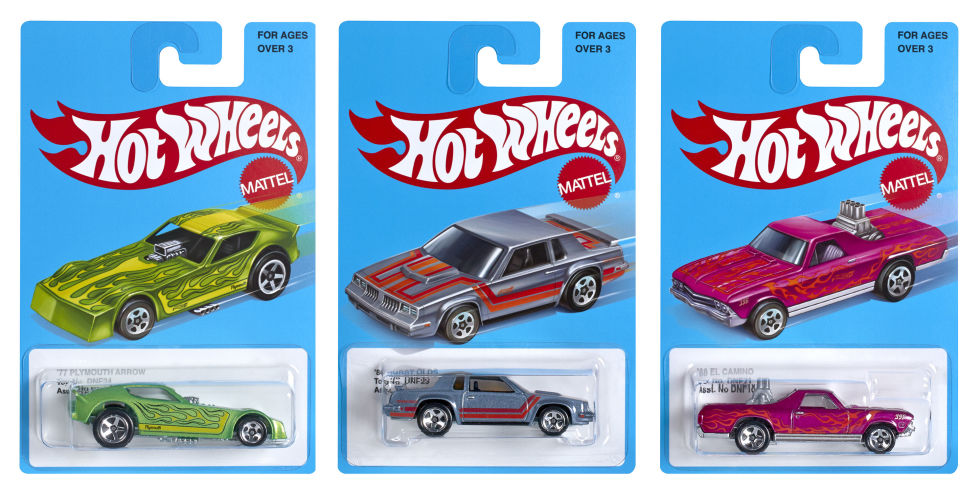 Mattel reissues iconic 1980s Hot Wheels cars and sets