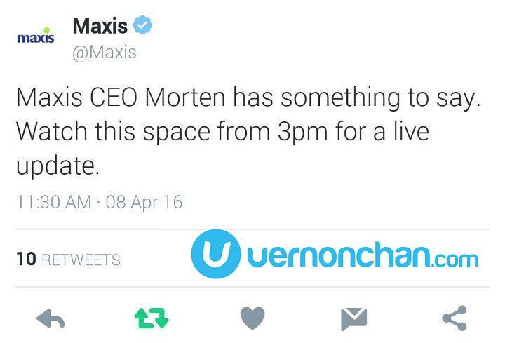Maxis CEO Morten Lundal