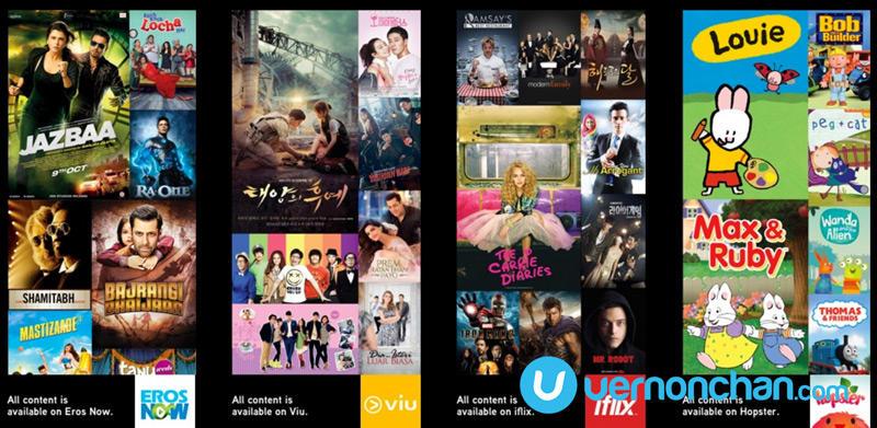 Maxis VOD