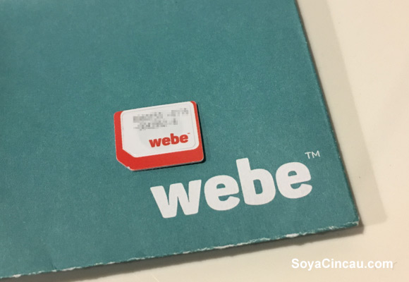 Webe Speedtest results are… not so impressive