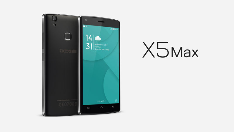 Doogee X5max set to debut in Malaysia in June