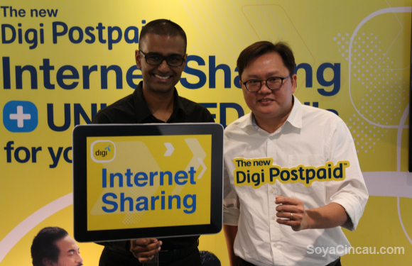 Here comes Digi's Internet Sharing service for your family and gadgets