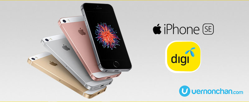 Apple iPhone SE is free with Digi Postpaid