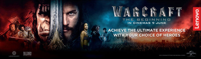 Lenovo Warcraft movie