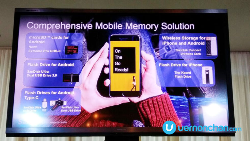 Never ever run out of memory with SanDisk's new Mobile Memory Solutions