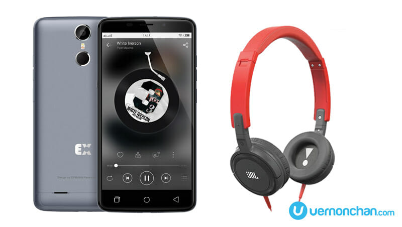 Malaysian-made EXMobile VoLte 1 bundles with JBL headphones for MYR799