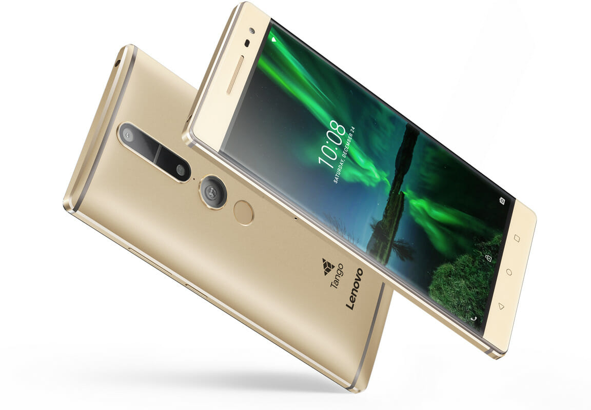 Lenovo PHAB2 Pro is the first phone to Tango