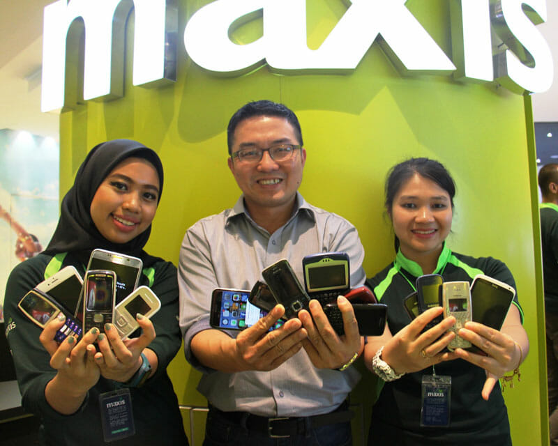 Got an old phone? Trade up for an iPhone 6s with Maxis
