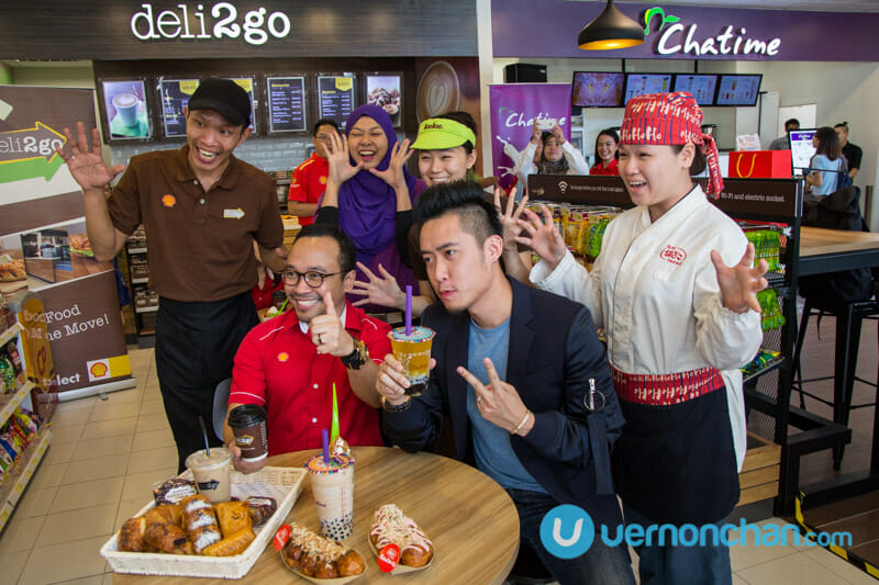 Shell Malaysia and Loob Holding bring Chatime, llaollao and Gindaco to Shell Select stores