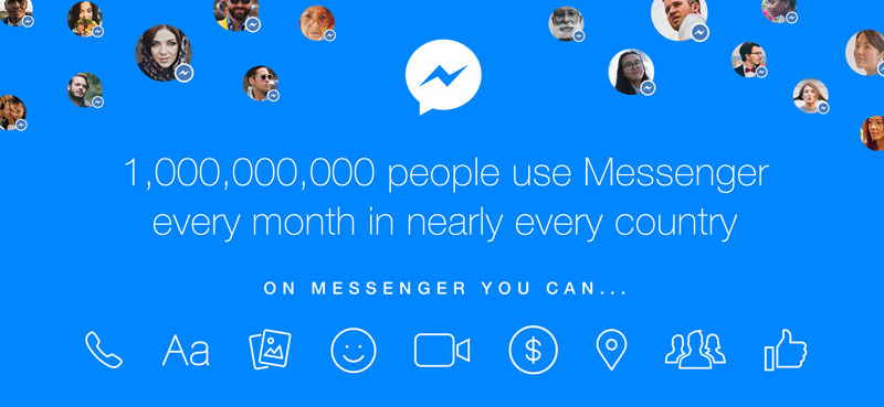 Facebook Messenger is #2 most popular iOS app ever, hits 1 billion monthly users