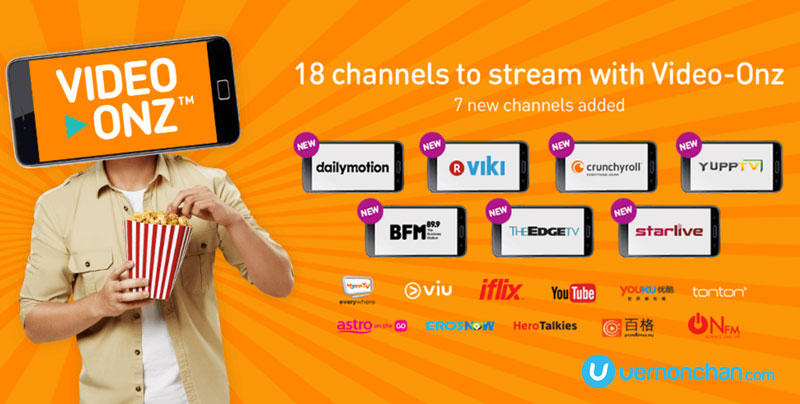 U Mobile Video-Onz partners