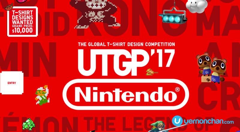 132d360f UNIQLO Grand Prix 2017 T-Shirt Design Contest focuses on Nintendo themes.  by Vernon July 8, 2016. 70 views; 0. UNIQLO Nintendo