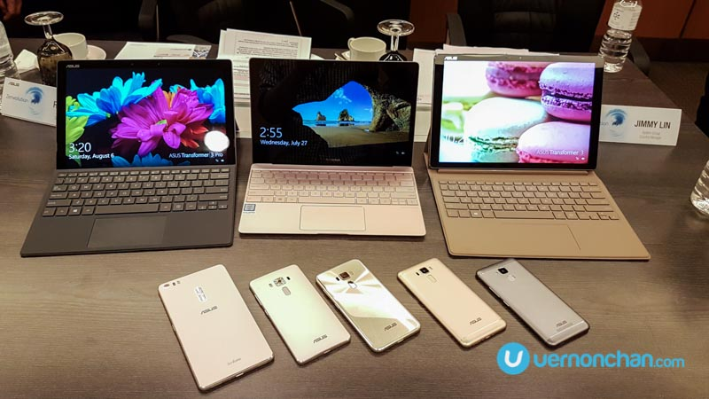 It's a Zenvolution: ASUS unleashes ZenFone 3 series, ZenBook 3, Transformer 3 and Transformer 3 Pro in Malaysia