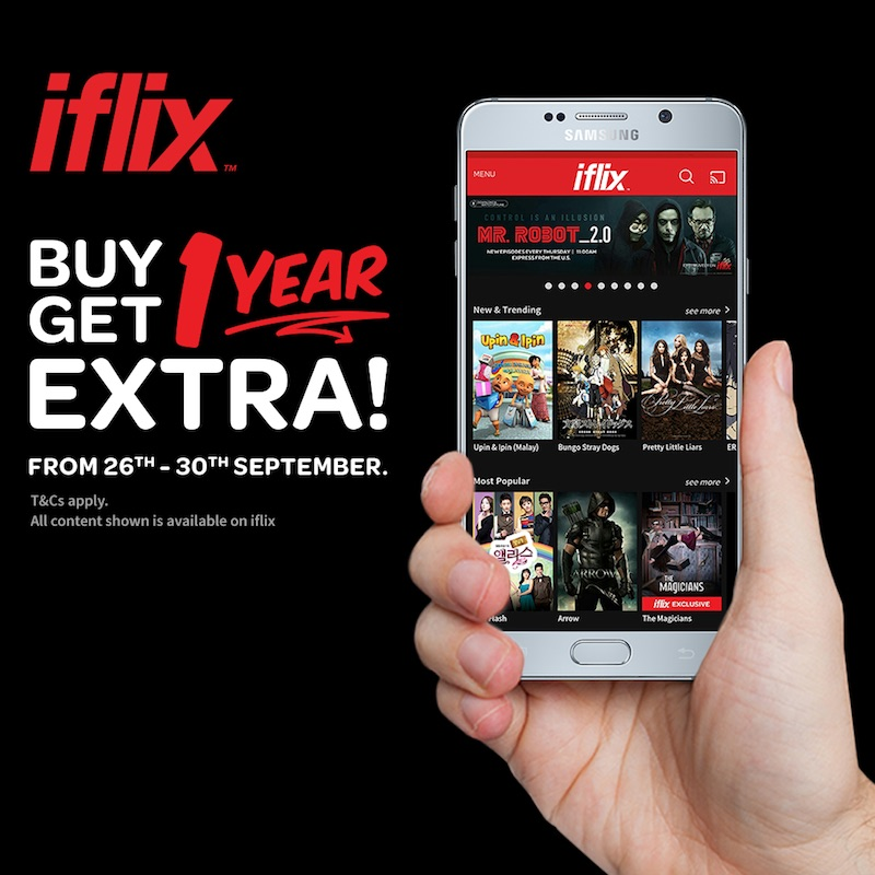 Iflix buy 1 free 1 year subscription offer mycybersale iflix buy 1 free 1 stopboris Images