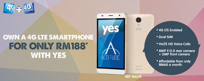 Yes 4G LTE Merdeka promo